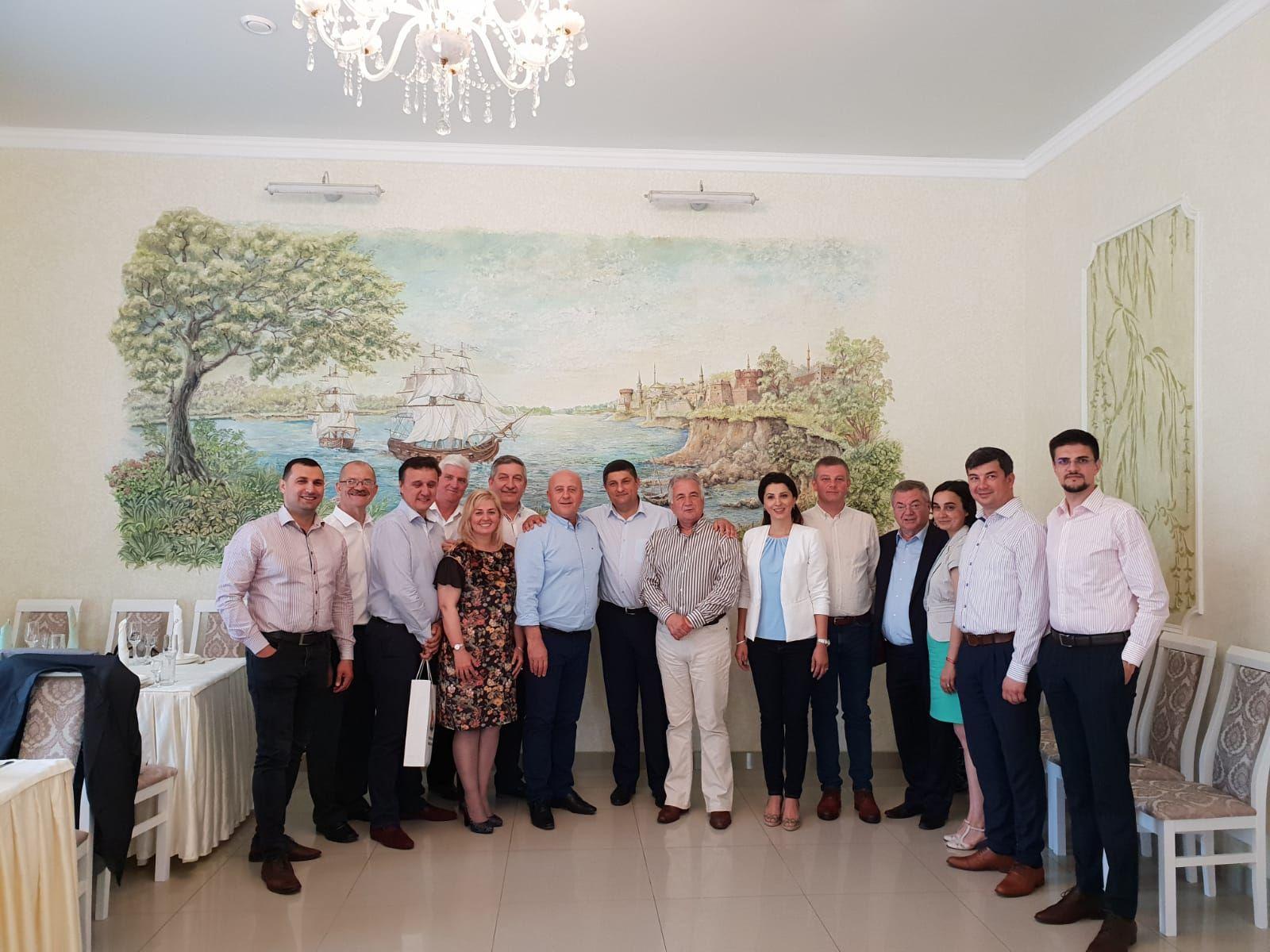 """Cooperarea continuă: delegaţie tulceană  la Festivalul """"Primăvara Dunăreană"""", Izmail"""