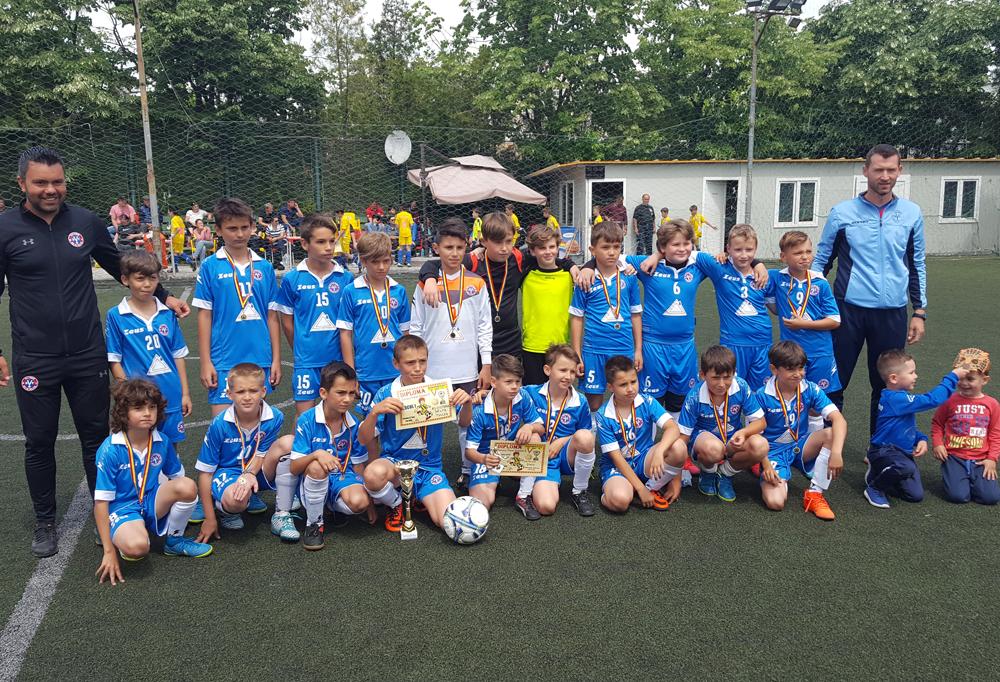 FC Victoria Delta Tulcea a câştigat finala campionatului judeţean de juniori E