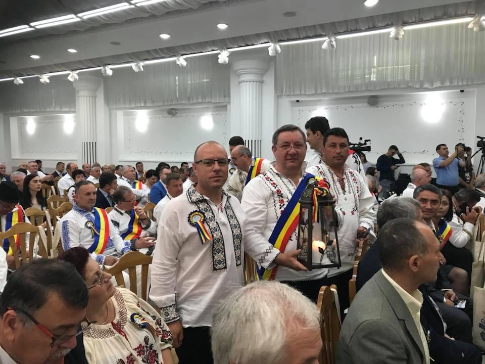 """Primarul Marian Naiman a adus """"Flacăra Centenarului"""" la Tulcea"""