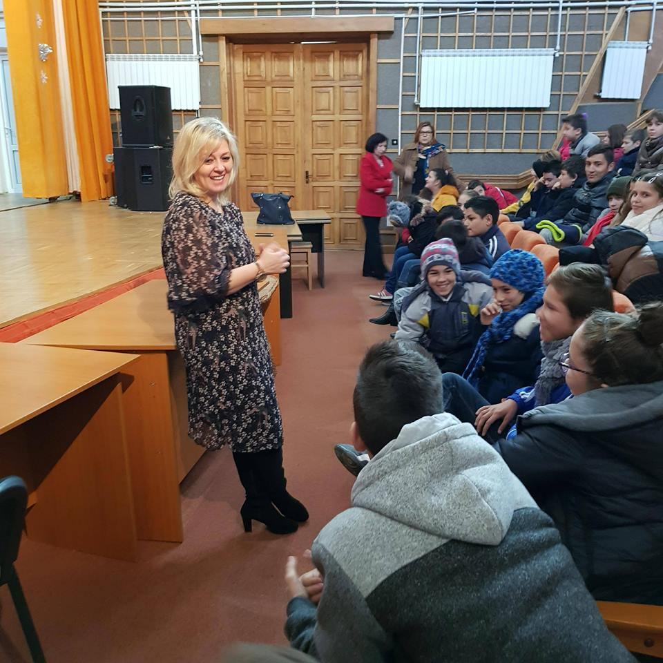 Viceprimarul Andaluzia Luca provoacă elevii tulceni să colecteze selectiv deşeurile