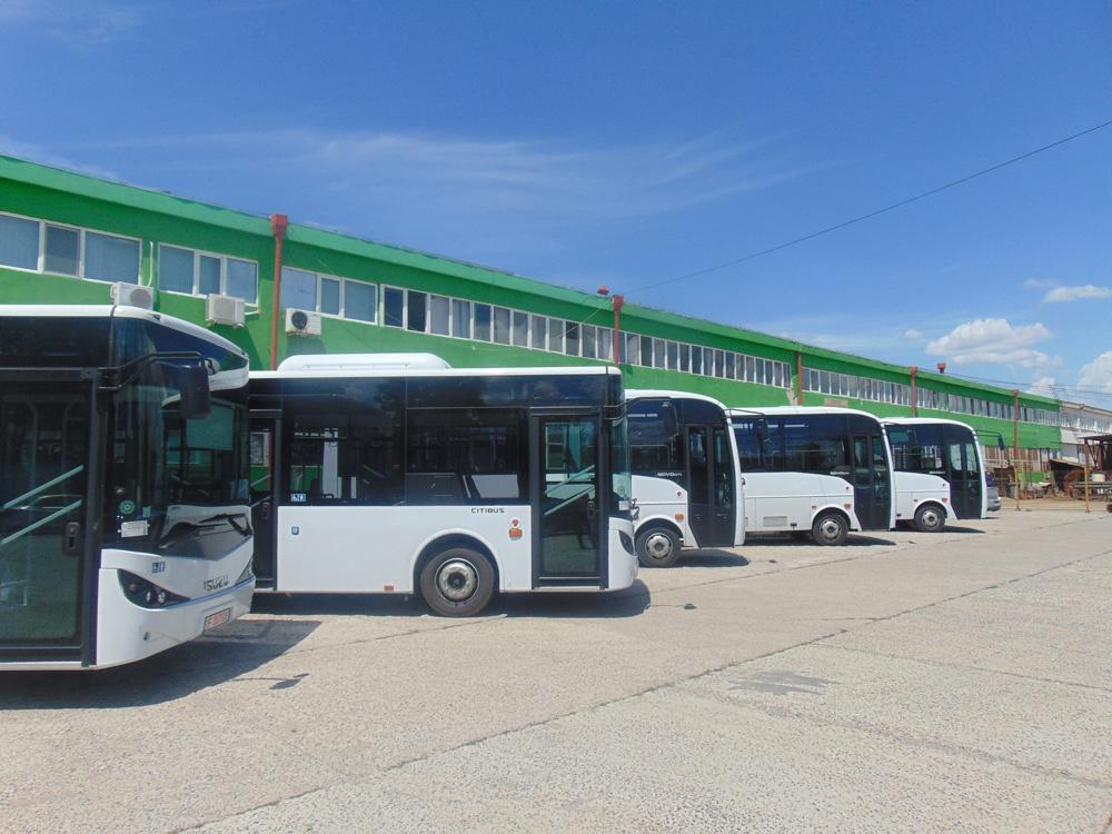 Cinci autobuze noi au sosit la Tulcea