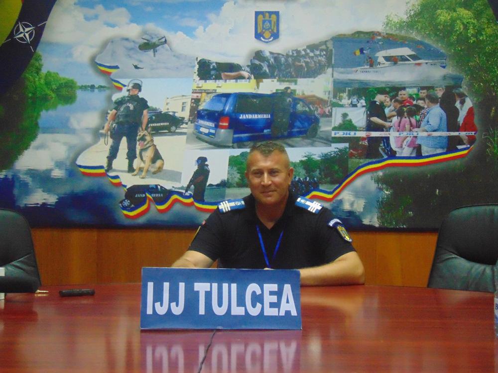 Colonel Ion Bordei, şeful IJJ Tulcea: