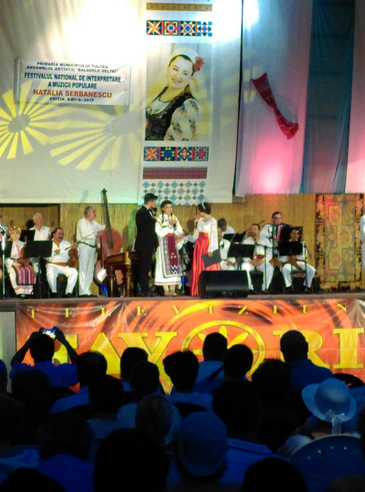 """Festivalul-Concurs naţional de interpretare a muzicii populare  """"Natalia Şerbănescu"""" îşi deschide porţile la Tulcea"""