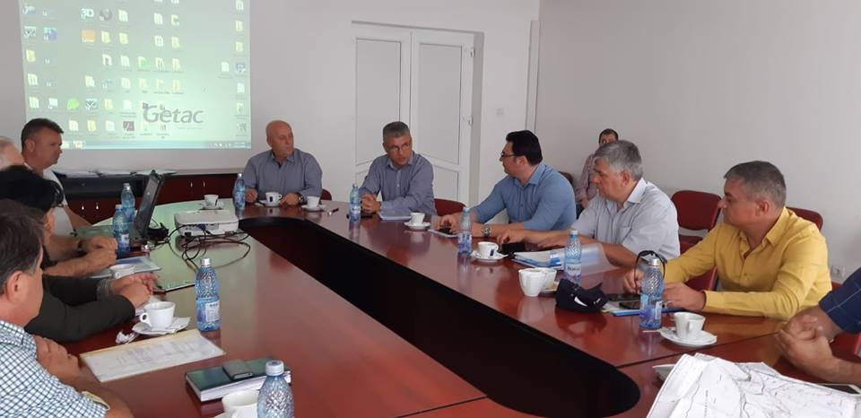Ministrul Apelor şi Pădurilor, în inspecţie la Tulcea