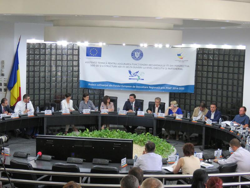 O nouă întâlnire de lucru a ITI Delta Dunării cu reprezentanţii Comisiei Europene