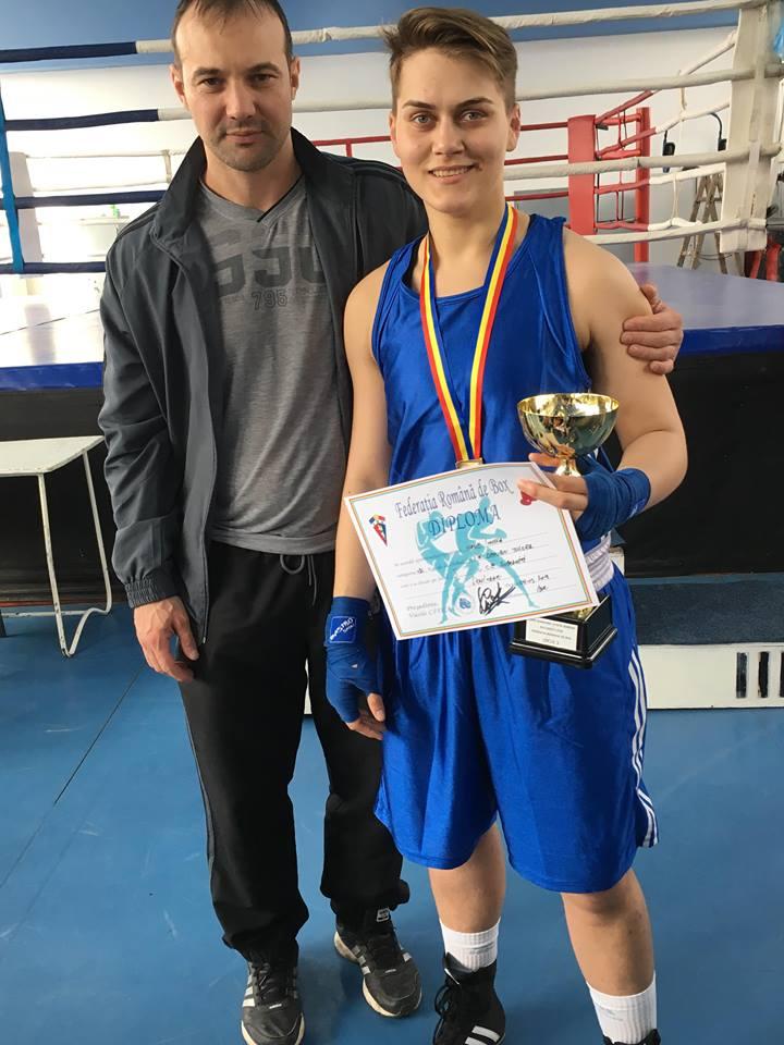 """Tulceanca Ionela Nane, """"samurai"""" pentru Tokyo după un KO de senzaţie la Europeanul de Box de la Sofia"""