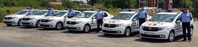 Începând de astăzi, şapte autospeciale noi vor deservi poliţiştii tulceni