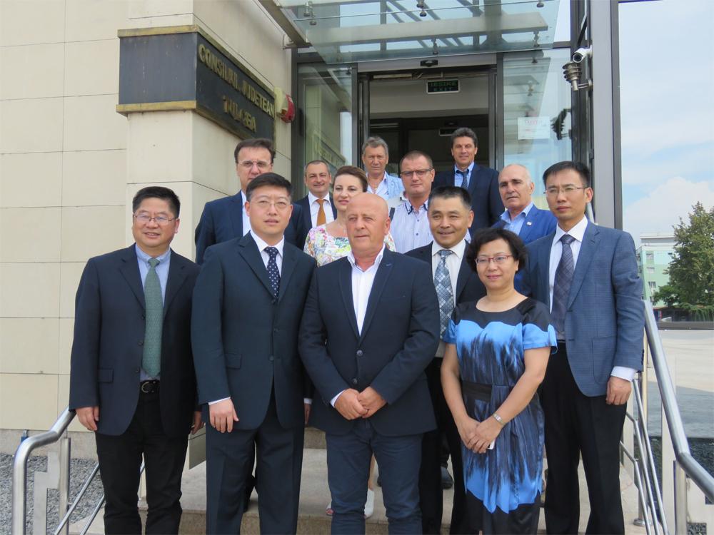 Delegaţie a Municipalităţii din Suzhou, în vizită la Tulcea