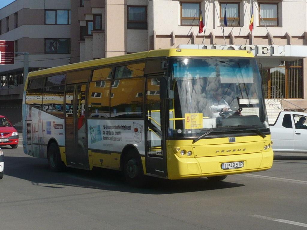 Primăria Tulcea oferă transport public gratuit şomerilor din municipiu