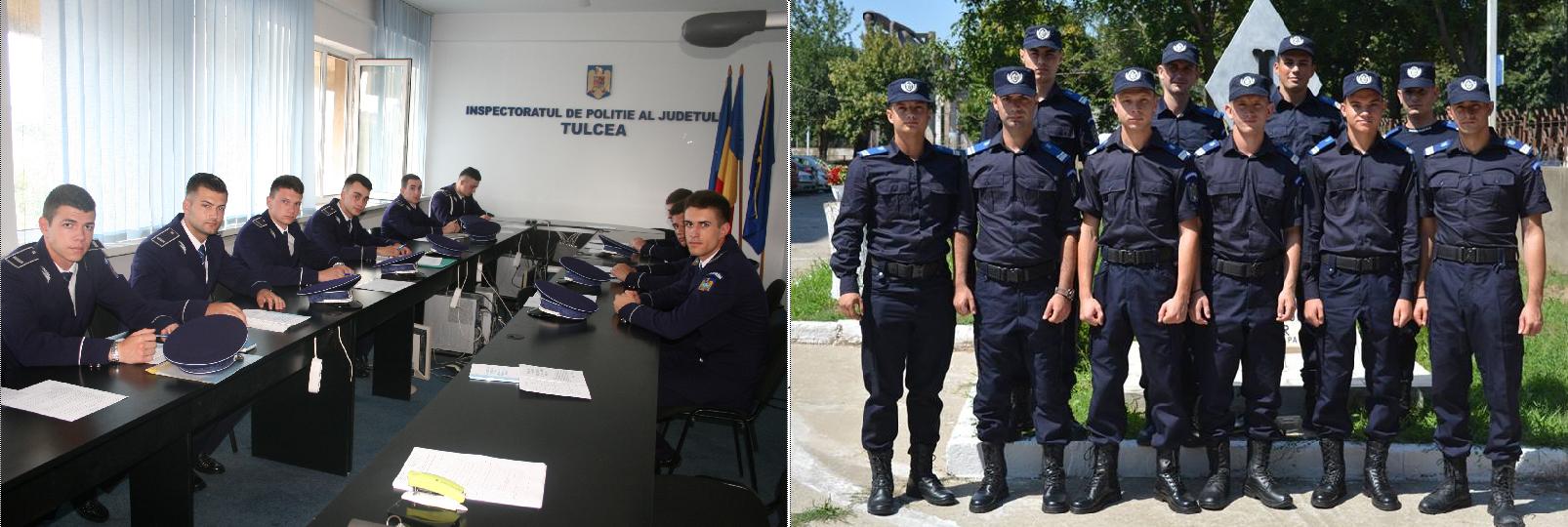 Poliţiştii şi jandarmii tulceni au câte zece noi colegi