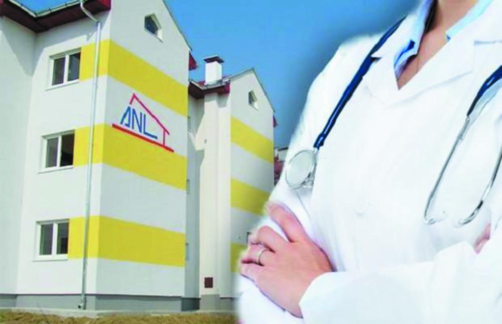 A fost stabilită lista specialiştilor din sănătate care primesc locuinţe ANL