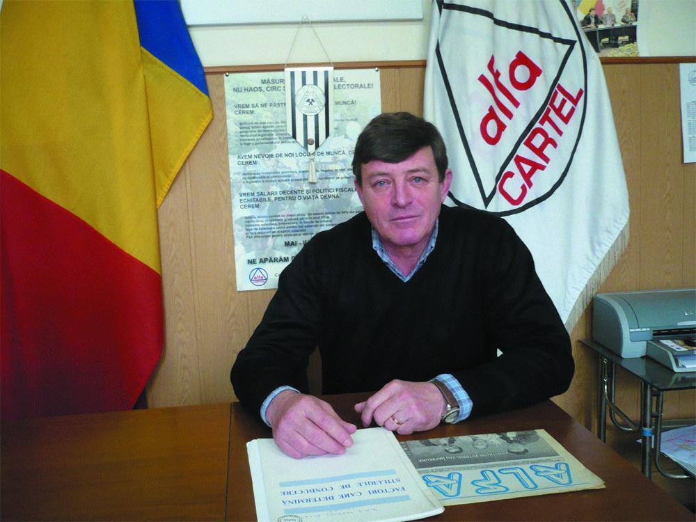 Petruş Solomencu a fost reconfirmat în fruntea filialei teritoriale Tulcea a CNS Cartel Alfa