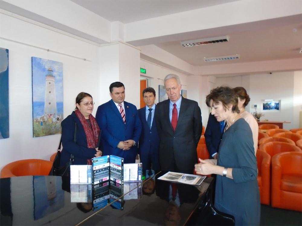 """Eveniment de excepţie la Biblioteca judeţeană ,,Panait  Cerna"""" din municipiul Tulcea:"""
