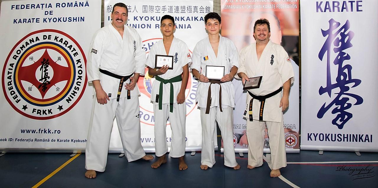 Vlad Uncu şi Adrian Militaru de la Nippon Budo Sport Tulcea, printre cei mai buni sportivi din ţară în 2018