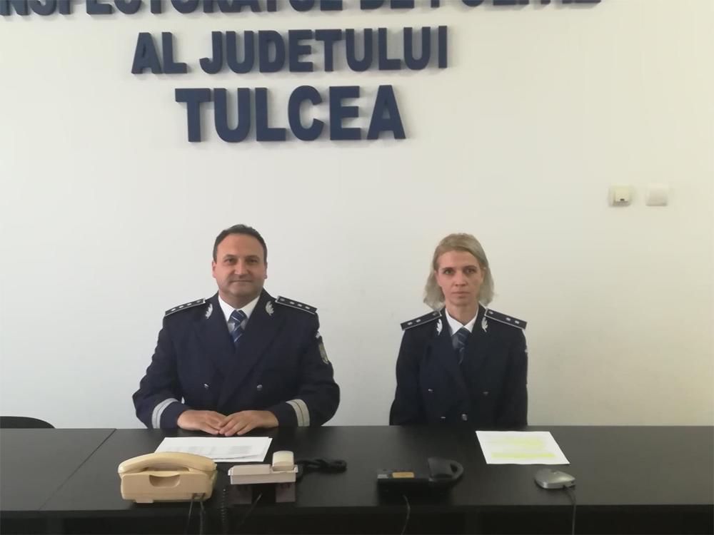 Forţe noi la IPJ Tulcea: peste 20 de poliţişti îşi încep astăzi activitatea