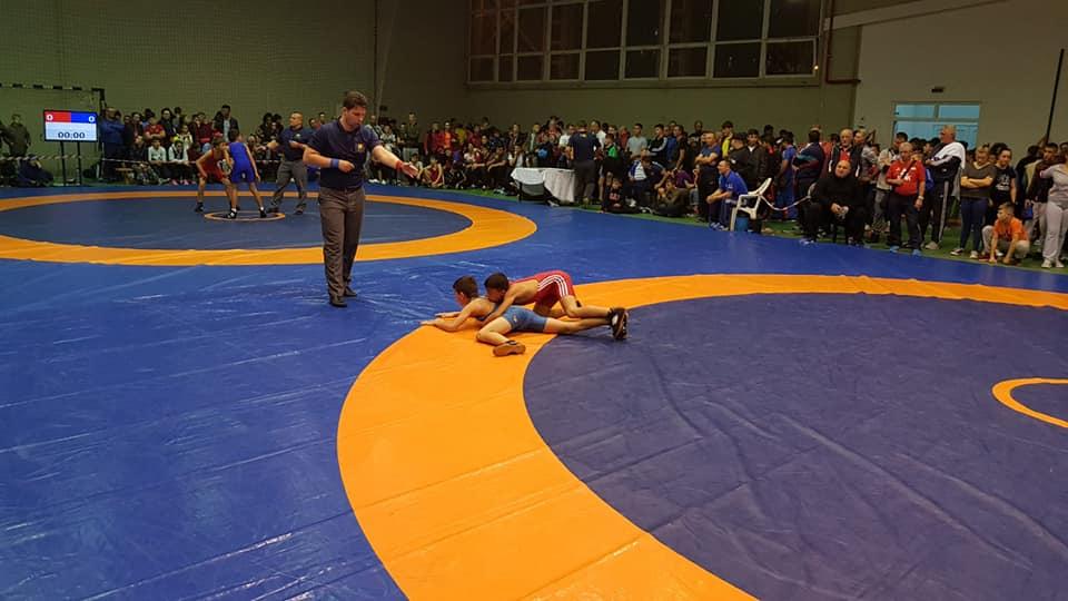 Medalie de bronz pentru tulceanul Ali Gean la Campionatul Naţional de lupte pentru juniori