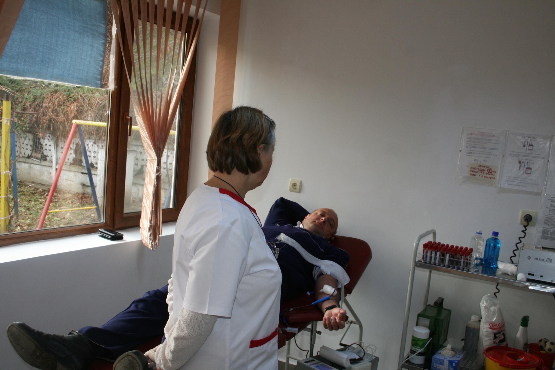 Peste 70 de poliţişti tulceni au donat sânge, în cadrul Centenarului Marii Uniri