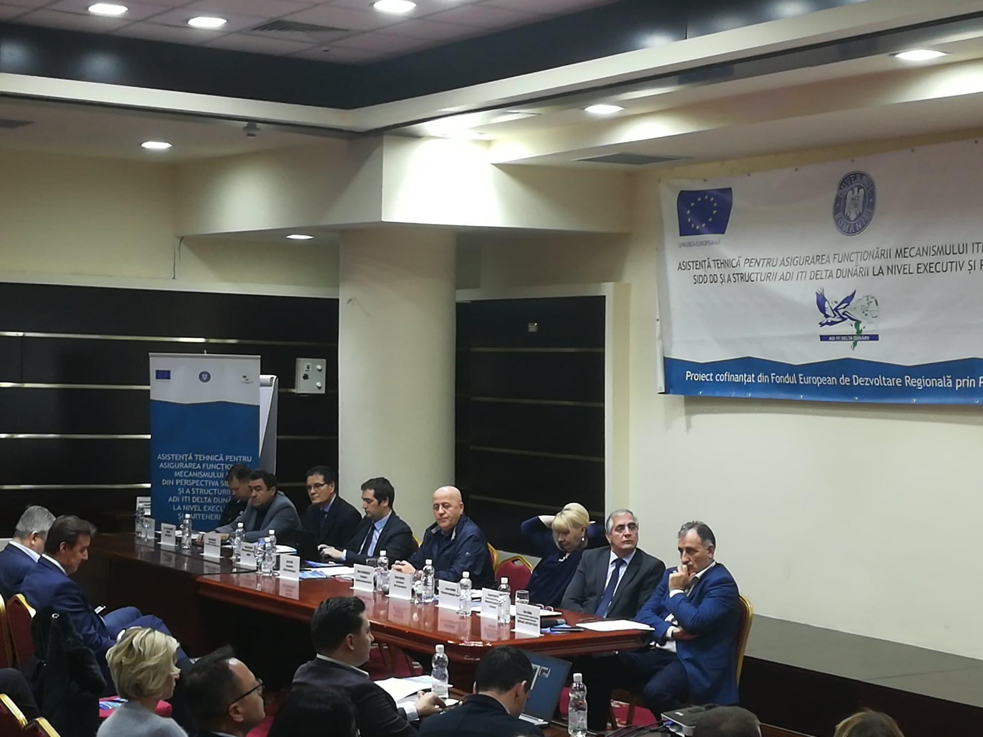 """Preşedintele Teodorescu: """"Ar trebui să încercăm să realizăm un ITI la nivel de Dobrogea sau la nivel de Delta Dunării"""""""