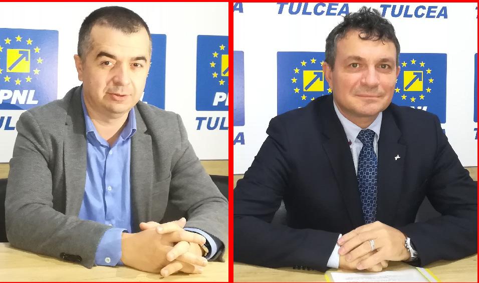 Start în cursa internă: liberalii Ştefan Ilie şi Octavian Motoc candidează la Primăria Tulcea