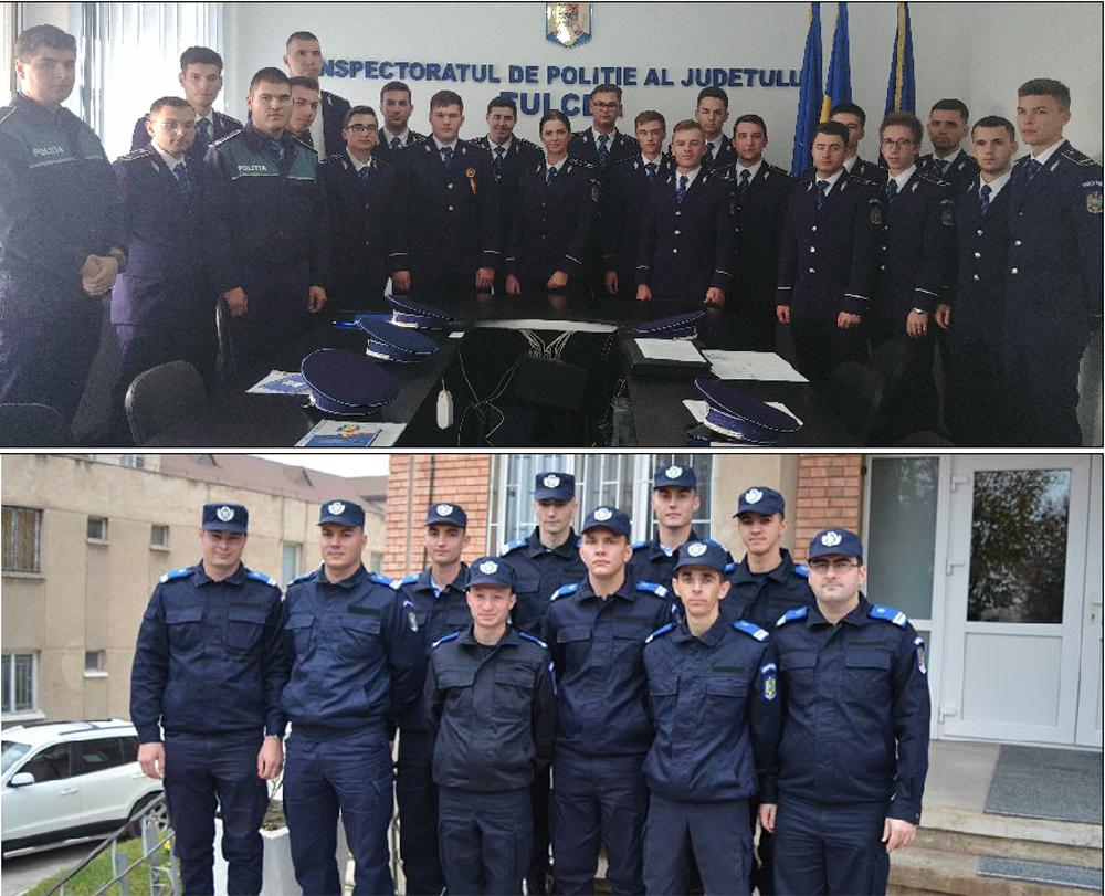 Poliţişti şi jandarmi noi la Tulcea