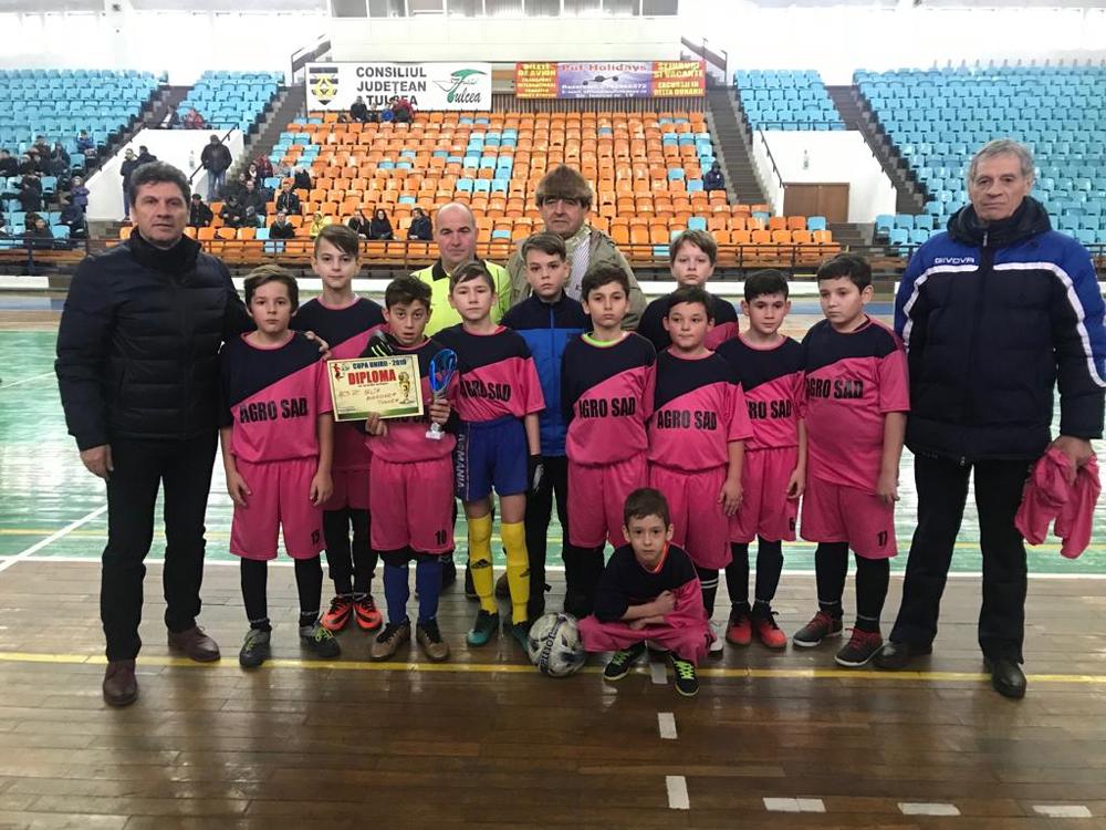 Fotbal copii: Cupa Unirii sau bucuria jocului!