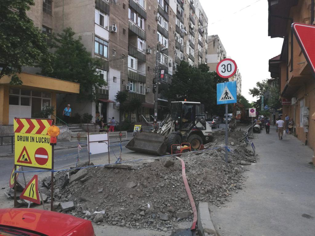 Lucrările de pe strada Păcii au fost scoase din nou la licitaţie