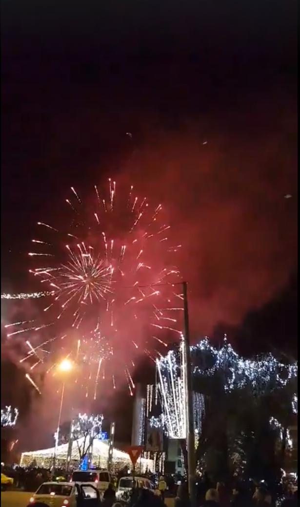 Mii de tulceni au petrecut Revelionul în Piaţa Civică