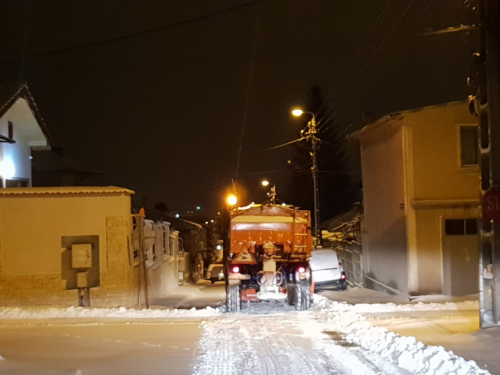 Prima factură de iarnă la Tulcea