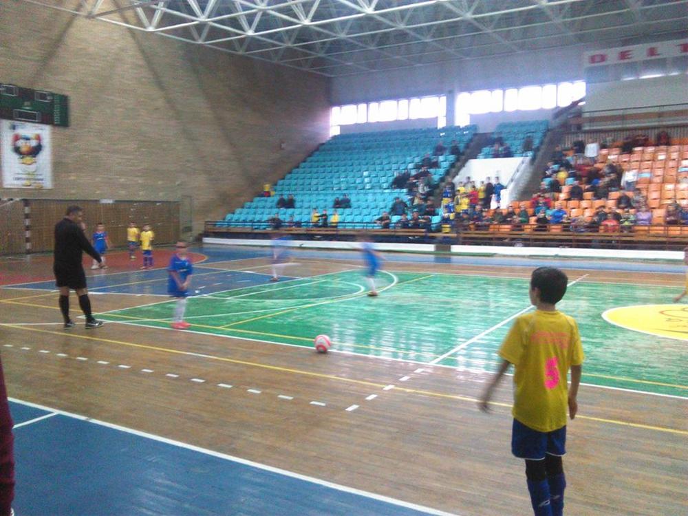 Fotbal în sală: Cupa Dobrogei Junior se joacă sâmbătă la Polivalentă