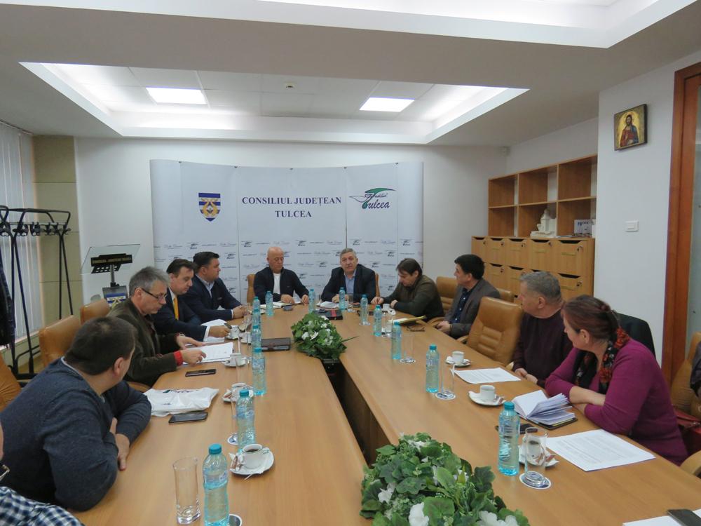 Întâlnire de lucru privind noutăţile legislative aplicate în Rezervaţia Biosferei Delta Dunării
