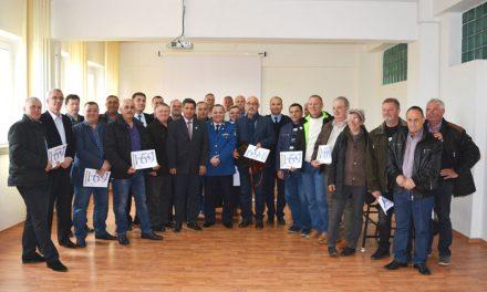 Peste 20 de jandarmi tulceni, premiaţi cu ocazia Zilei veteranilor