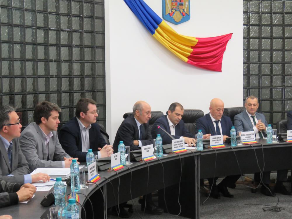 """Preşedintele Teodorescu, despre podul peste Dunăre: """"Termenul de finalizare a construcţiei va fi respectat, iar această investiţie va fi dusă la bun sfârşit"""""""