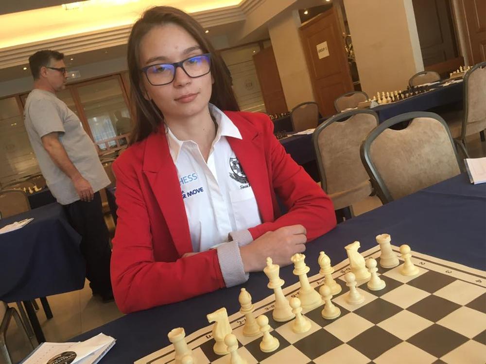 Tulceanca Andreea Beatrice Hristea, locul I într-o competiţie internaţională de şah