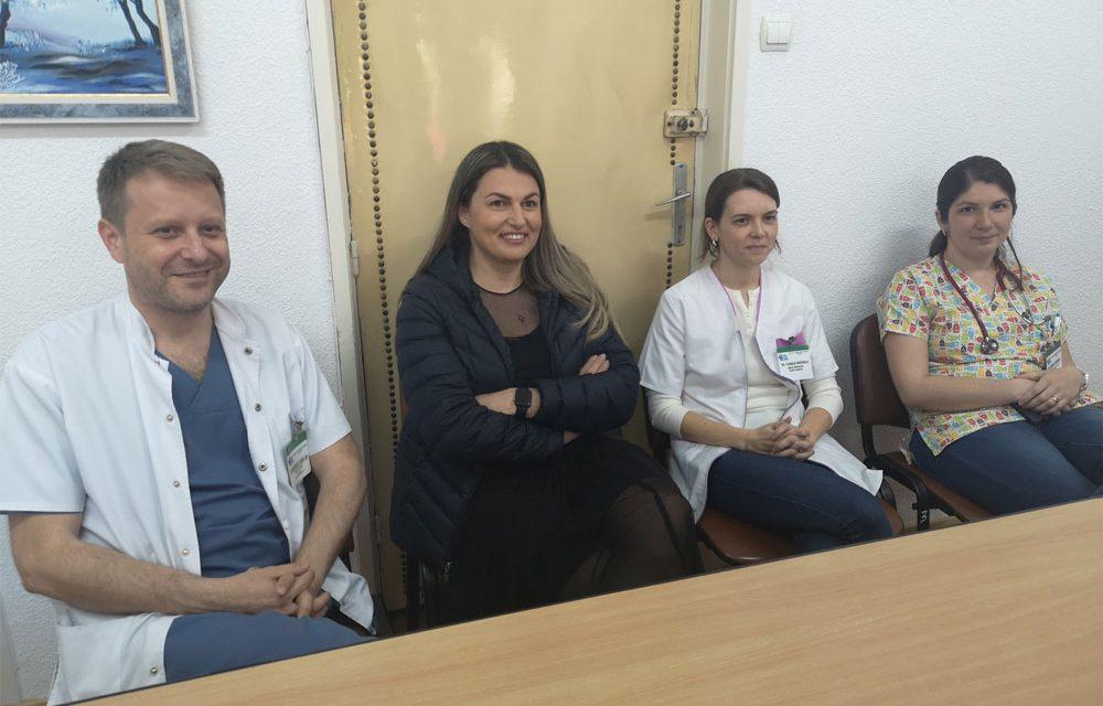 Donaţie de 30.000 de euro pentru Secţia de Pediatrie a SJU Tulcea