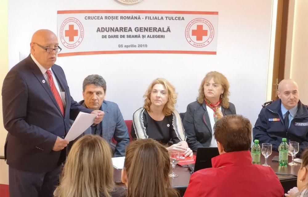 Dr. Dumitru Vâlcu, reales preşedintele Crucii Roşii Filiala Tulcea