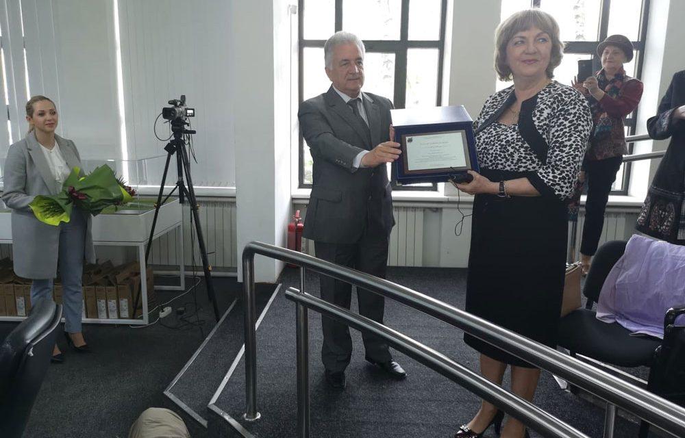 Elena Fidatov Moruzov, cetăţean de onoare al municipiului Tulcea