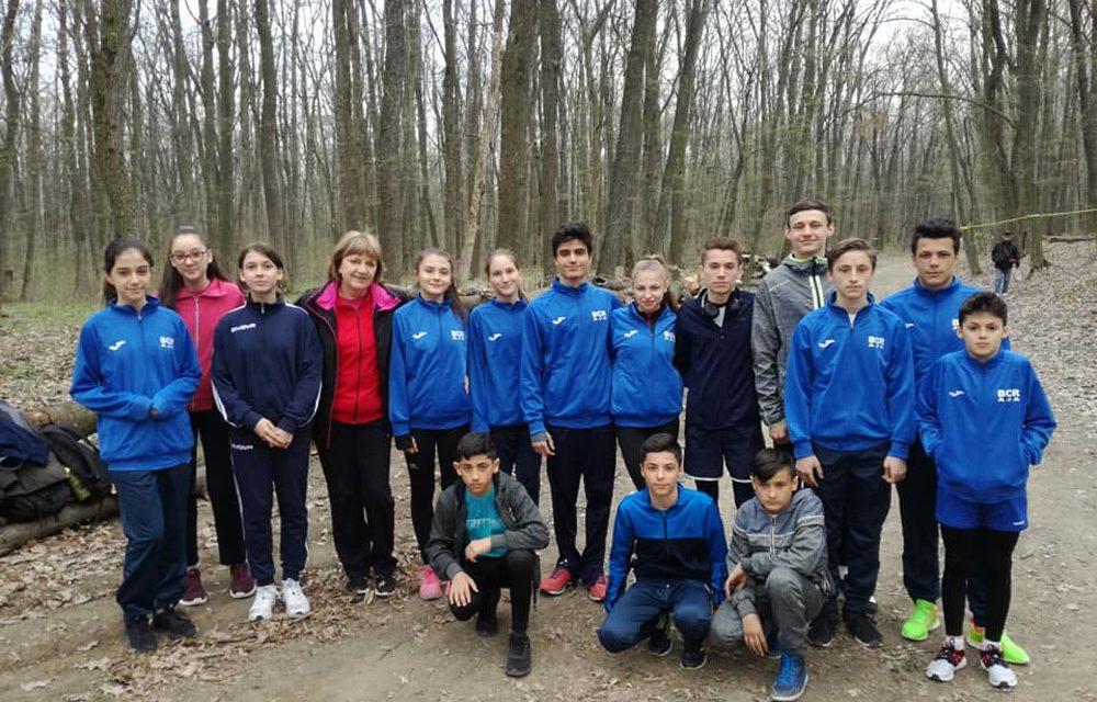 Medalie de argint pentru Echipa Copiilor 1 de la CSM Danubiu Tulcea la Campionatul Naţional de cros