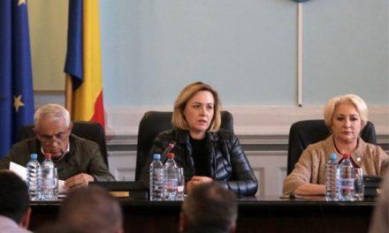 Astăzi, prim-ministrul Viorica Dăncilă este la Tulcea