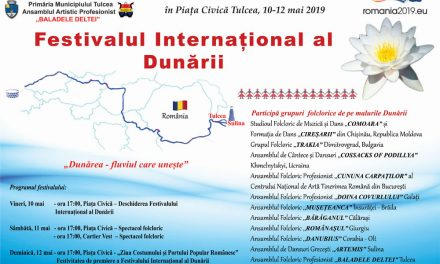 Ansambluri folclorice din patru ţări, la Festivalul Internaţional al Dunării