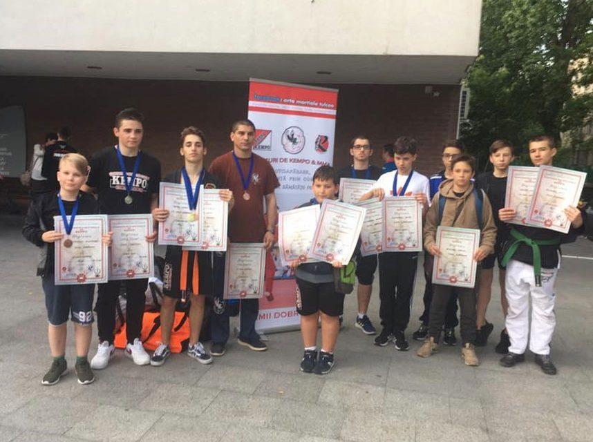 C.N. Kempo ACS Şoimii Dobrogeni: 13 medalii şi un titlu de campion naţional