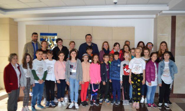 Elevi din patru ţări europene, în vizită la Tulcea, în cadrul proiectului Erasmus+