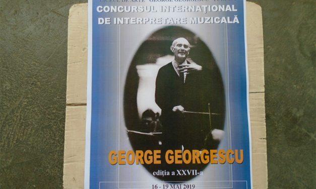 """Peste 300 de participanţi la Concursul Internaţional """"George Georgescu"""""""