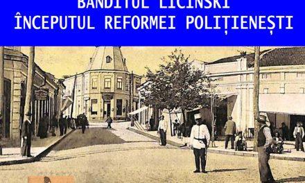 Poliţia Tulcea organizează un simpozion despre Banditul Licinski