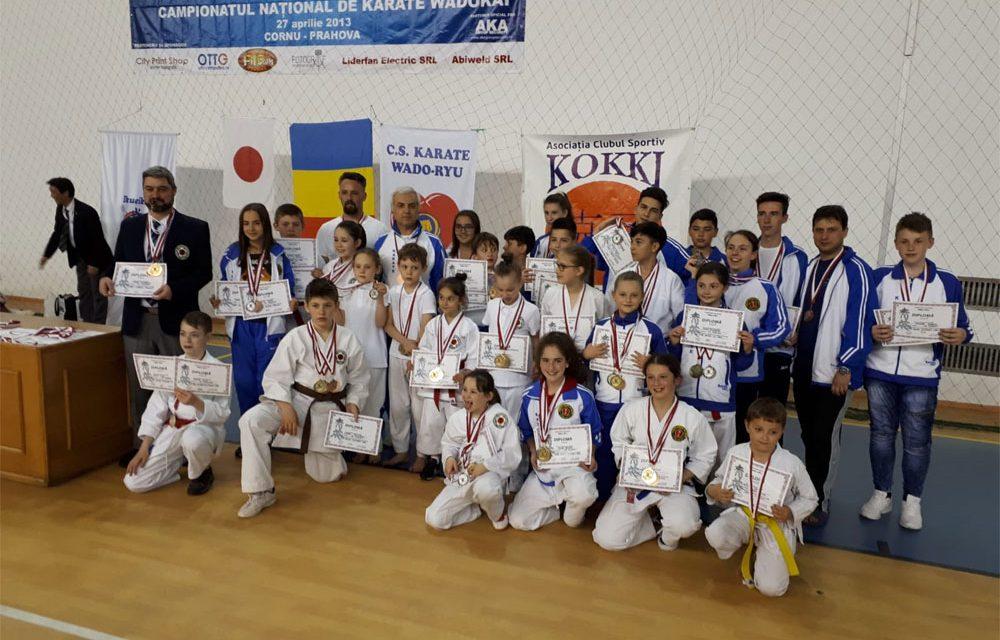 Record de medalii pentru sportivii CS Fudoshin Tulcea într-o competiţie naţională