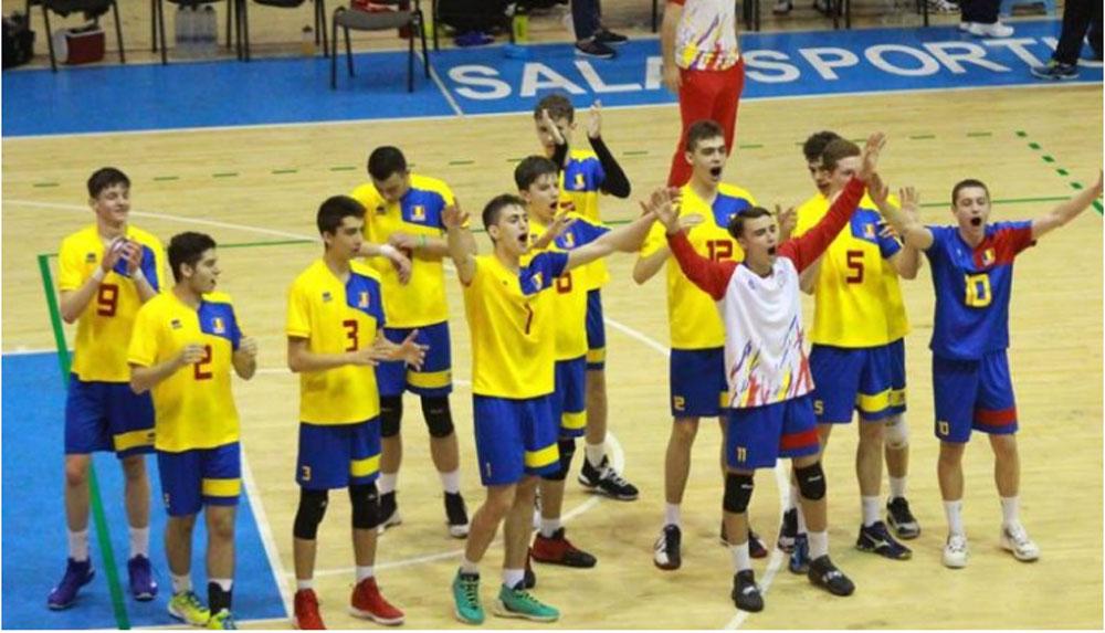 România, calificare în premieră la Campionatul European Under 17 – volei masculin