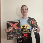 Amalia Ţugui din Sulina, dublă campioană mondială la XFC!