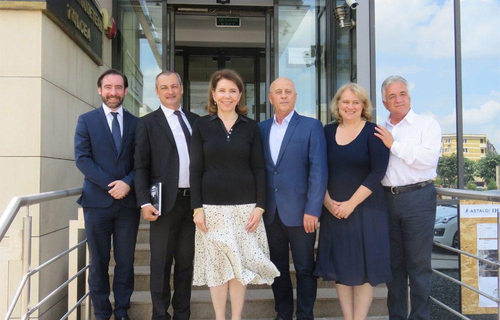 Ambasadorul Franţei, în vizită oficială la Tulcea