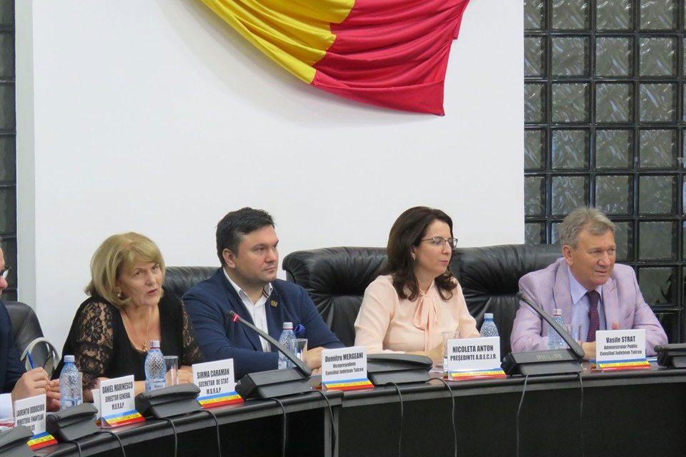 Directorul economic Nicoleta Anton a obţinut un nou mandat de preşedinte al ADECJR