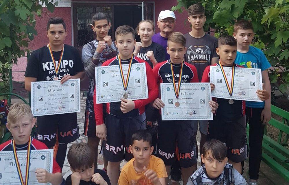 Două titluri de campioni naţionali la Kempo pentru CS Yamato Dojo din Tulcea