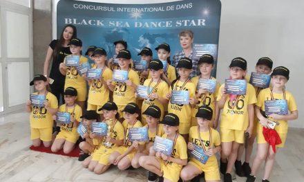 Let's Go Junior din Tulcea, locul I la Concursul International Black Sea Dance